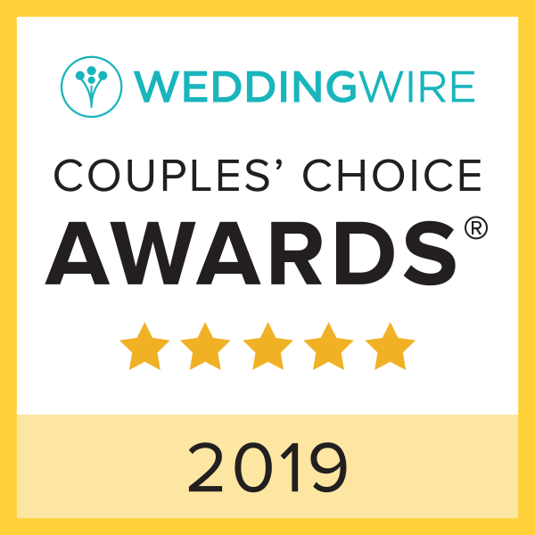 WeddingWire Couple's Choice Award 2019